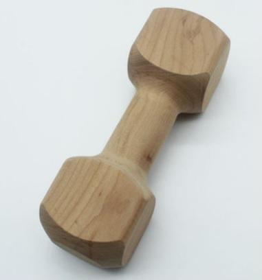实木玩具哑铃